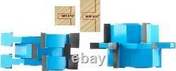 Réglable Mission / Agitateur Style 2pc Rail & Stile Porte Routeur Cabinet Bits Pour