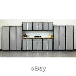 Sandusky As11-mg09 Modulaire Ensemble Cabinet, 210 Largeur Totale