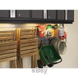Série Gras 96. W X 19,58 En. H X 12 Po. Acier D 24-gauge Cabinet Set À Gray