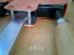 Set De 2 Jorgensen # 8048 Cabinet Maître 48 90 ° Parallèle Barre D'acier Clamp USA