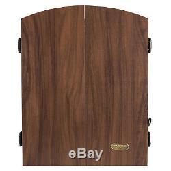 Set Électroniques Haut De Gamme Bristle Dartboard Cabinet 6 Steel Tip Dart Board Jeu Nouveau
