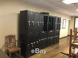 Set Steel Industrial Locker