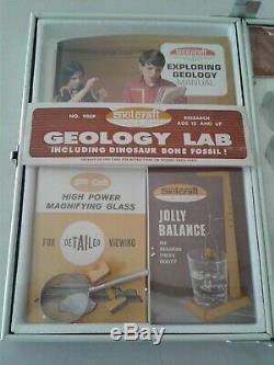 Skilcraft Geology Lab 908p En Cabinet En Acier Jamais Utilisé