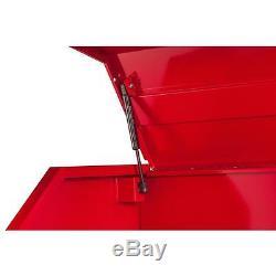 Stockage Verrouillable De Coffre À Outils D'armoire De Roulement D'atelier Rouge 42 À 20 Tiroirs