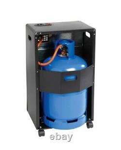 Supawarm 3 Réglages De Chaleur Portable Butane Calor Armoire À Gaz Thermomètre 4.2k