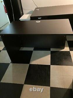 Télétravail, Homeschool Boss Bureau De La Marque & Cabinets De Fichiers 4 Pièces Ensemble Mocha