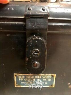 Très Rare! Ours Marque Auto En Cours Cans Conseil Du Cabinet Box Set