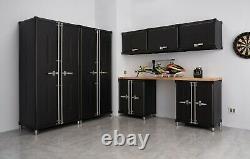 Trinity Pro Tsnpbk-0614 8-piece Garage Cabinet Set Noir