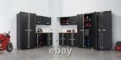 Trinity Pro Tsnpbk-0618 Ensemble De Cabinets De Garage 13 Pièces, Noir