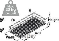 Vauth-sagel Vs Sub Côté Retirez Cuisine Panier De Rangement Set 300mm Largeur Cabinet