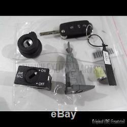 Vw Golf 6 Gti 155 Kw Schliesszylinder Schlüssel Verrouillage Set Avec Clé