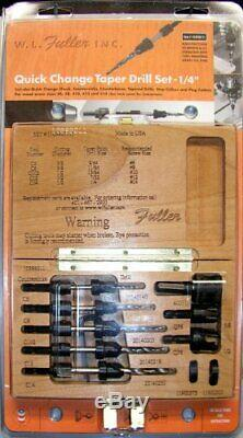 W. L. Fuller 10393011c # 11 5 Pièces Drill Set Conique