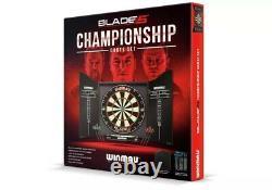 Winmau Blade 5 Championship Dartboard, Coffrets Et Fléchettes