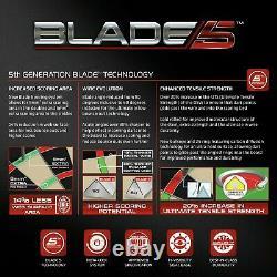 (qualité De Top) Bristole Winmau Blade 5 Championnat Dartboard, Jeux De Fléchettes Cabinet